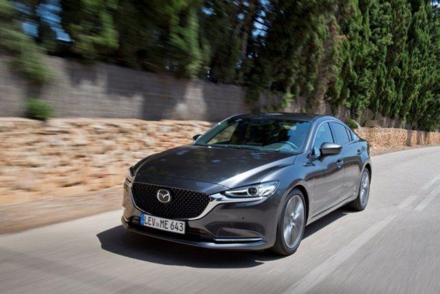 Mazda6 Facelift Modelljahr 2018 © Mazda