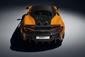 McLaren 600 LT Heckansicht © McLaren Automotive