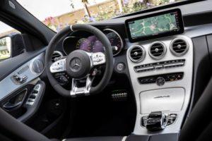 Neuer Mercedes AMG C63 Innenraum Cockpit © Daimler AG