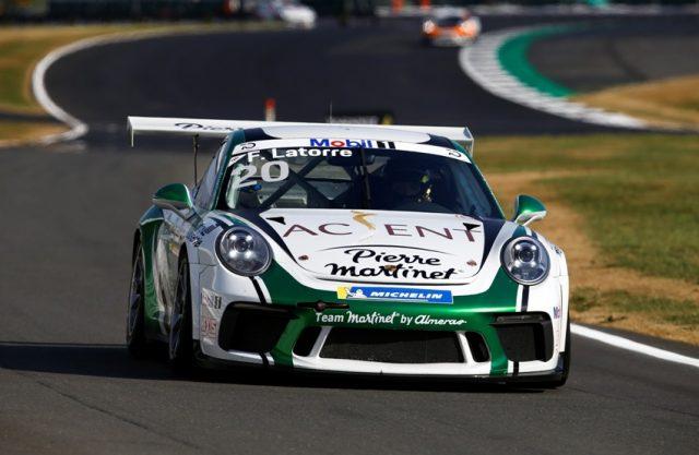 Porsche 911 GT3 Cup, Florian Latorre (F), Porsche Mobil 1 Supercup, Silverstone 2018 © Porsche Motorsport