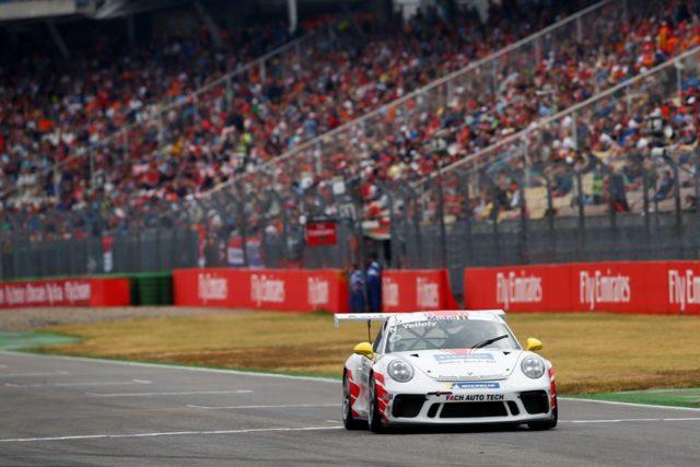 Porsche 911 GT3 Cup, Nick Yelloly (GB), Porsche Mobil 1 Supercup, Hockenheim 2018 © Porsche Motorsport