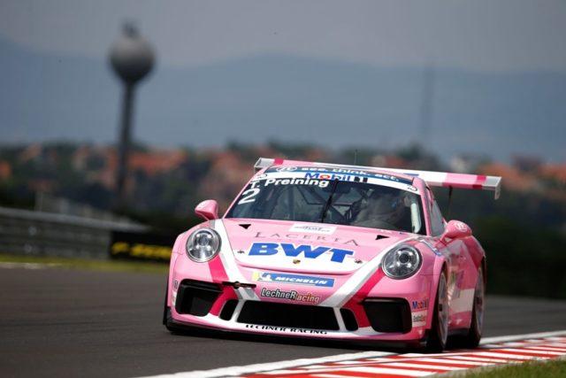 Porsche 911 GT3 Cup, Thomas Preining (A), Porsche Mobil 1 Supercup, Budapest 2018 © Porsche
