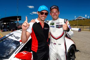 Porsche GT Team Patrick Pilet, Nick Tandy © Porsche Motorsport