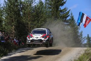 Rallye Finnland Toyota Gazzoo Racing © Toyota