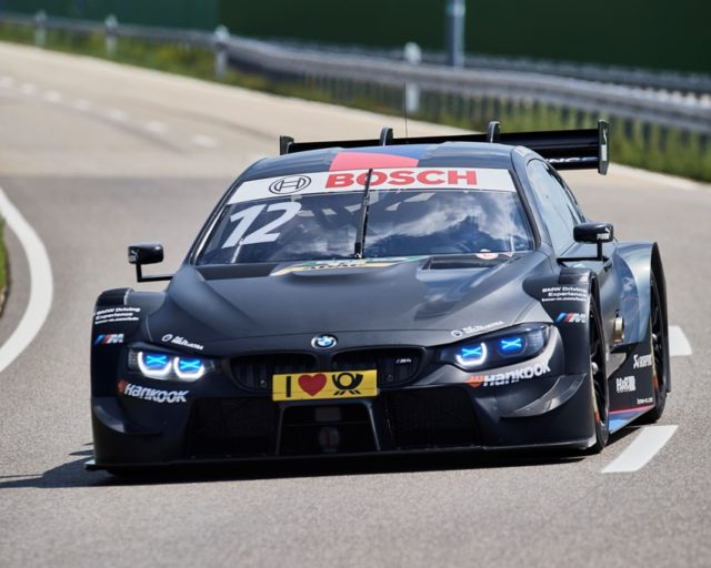 Roll-out BMW M4 DTM. Alessandro Zanardi (ITA) © BMW AG