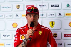 Formel 1 Kimi Raikkönen GP von Deutschland © Scuderia Ferrari