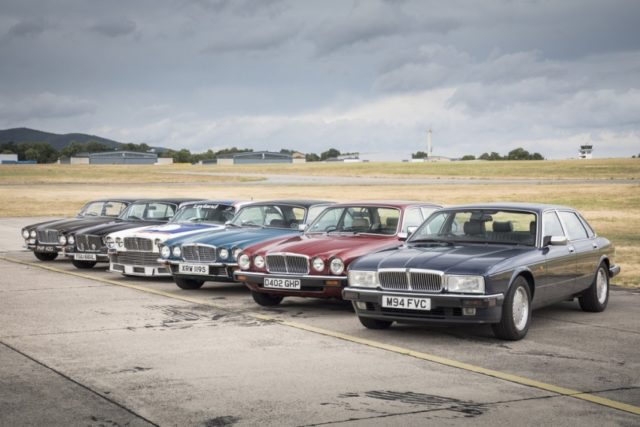 50 Jahre Jaguar Xj Die Autos Von Sir William Lyons Und Der Queen