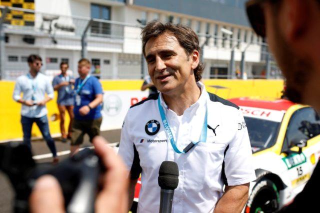 Alessandro Zanardi Gaststarter in der DTM © BMW AG