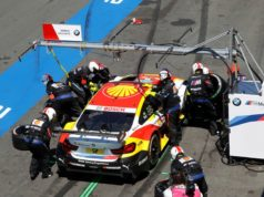 DTM Boxenstopp Augusto Farfus Shell BMW M4 DTM, Pit stop BMW Team RMG © BMW Motorsport