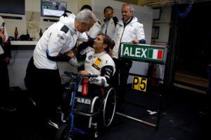 Misano (ITA) 26th August 2018. BMW M Motorsport, DTM, Round 7, Alessandro Zanardi (ITA), BMW M4 DTM, BMW Team RMR with Jens Marquardt (GER), BMW Motorsport Director © BMW Motorsport
