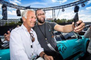 Christian Danner Jaguar und Land Rover auf dem Oldtimer Grand Prix 2018 © Jaguar