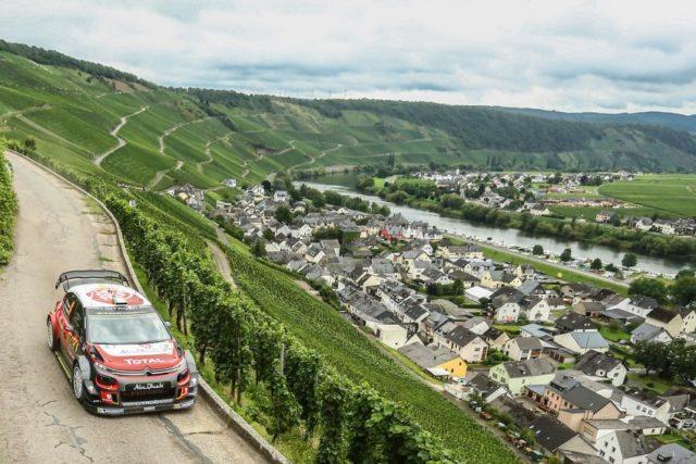 Citroen C3 WRC Citroen bei der Rallye Deutschland. © Citroen