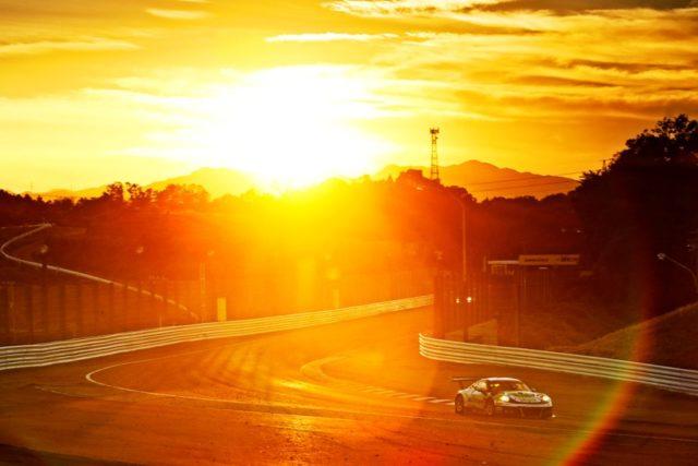Craft-Bamboo Racing, Porsche 911 GT3 R (991): Laurens Vanthoor (B), Kevin Estre (F), Mathieu Jaminet (F), Suzuka 2018 © Porsche Motorsport