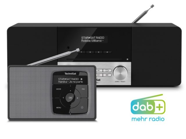 DAB+ Digitalradios © Technisat