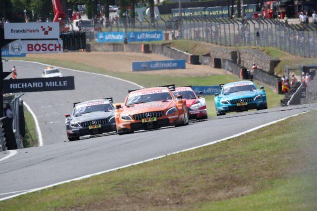 DTM, 2018, Brands Hatch. Mercedes-AMG Motorsport DTM Team, DTM, Lucas Auer, Mercedes-AMG C 63 DTM © Mercedes AMG Motorsport