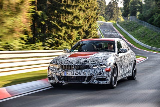 Erprobung neue BMW 3er Limousine BMW 3er Erlkönig © BMW AG