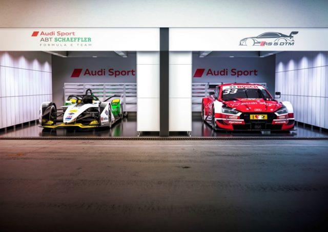 FIA Formula E, DTM udi e-tron FE05, Audi RS 5 DTM © Audi Communications Motorsport