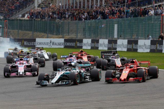 Formel 1 GP Belgien 2018 Spa © Mercedes AMG Petronas Motorsport