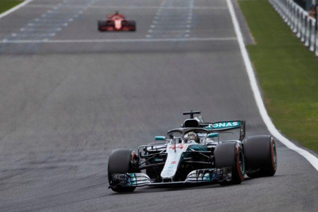 Formel 1 - Mercedes-AMG Petronas Motorsport, Großer Preis von Belgien 2018. Lewis Hamilton © Mercedes-AMG Petronas Motorsport