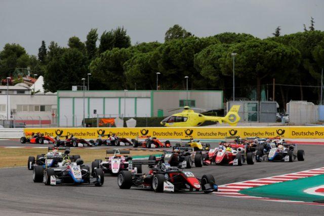 Formel 3 EM Misano Rennen 2 Rennstart © F3 EM