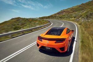 Honda wertet Hybrid-Supersportwagen NSX auf © Honda