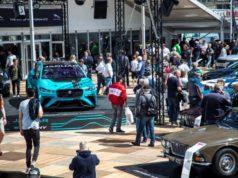 Jaguar und Land Rover auf dem Oldtimer Grand Prix 2018 © Jaguar