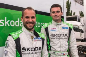 Skoda bei der ADAC Rallye  Mit einem Klassensieg wollen Jan Kopecký/Pavel Dresler (CZE/CZE) im SKODA FABIA R5 die Führung in der WRC 2-Gesamtwertung übernehmen © Skoda Motorsport