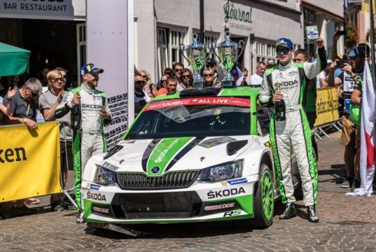 Jan Kopecký-Pavel Dresler SKODA FABIA R5 © Skoda Motorsport