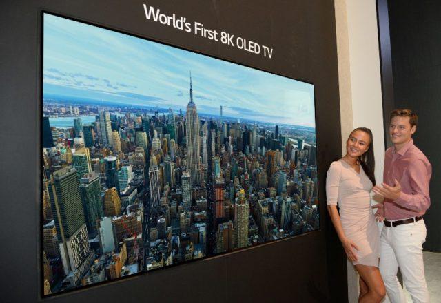 LG 8K OLED TV © LG