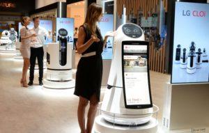 LG CLOi Roboter © LG