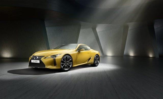 Premiere auf dem Pariser Automobilsalon Lexus LC Yellow Edition © Lexus