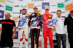 Formel 3 EM Misano Rennen 2 Podium © F3 EM