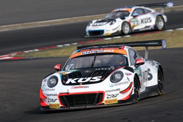 Porsche 911 GT3 R, KÜS Team75 Bernhard, Timo Bernhard (D), Kevin Estre (F), Nürburgring 2018 © Porsche Motorsport