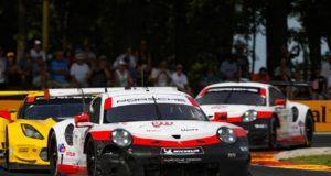 Porsche 911 RSR (911), Porsche GT Team Patrick Pilet, Nick Tandy 9.Lauf IMSA © Porsche Motorsport
