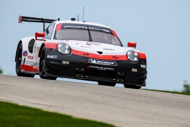 Porsche 911 RSR (912) Porsche GT Team Earl Bamber, Laurens Vanthoor © Porsche Motorsport