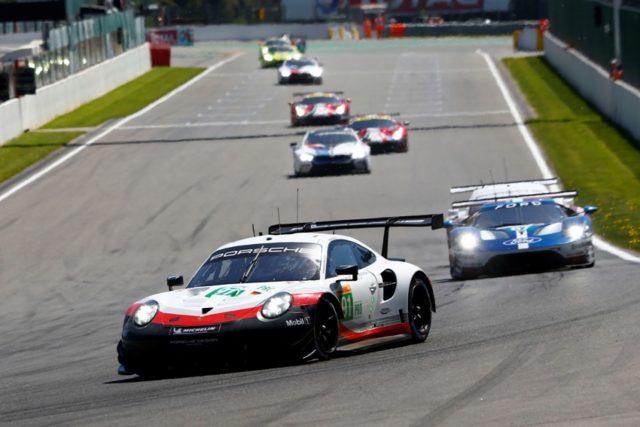 Porsche 911 RSR, Porsche GT Team (91), Richard Lietz (A), Gianmaria Bruni (I), Spa-Francorchamps 2018 © Porsche Motorsport