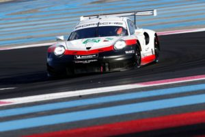 Porsche 911 RSR, Porsche GT Team (92), Michael Christensen (DK), Kevin Estre (F), Le Castellet 2018 © Porsche Motorsport
