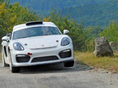Rallye-Konzeptstudie Porsche Cayman GT4 Clubsport für die FIA R-GT Kategorie © Porsche