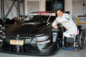 Roll-out BMW M4 DTM. Alessandro Zanardi (ITA) Gaststart DTM © BMW M Motorsport