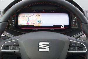 SEAT Digitales Cockpit feiert im SEAT Arona und SEAT Ibiza Premiere © Seat