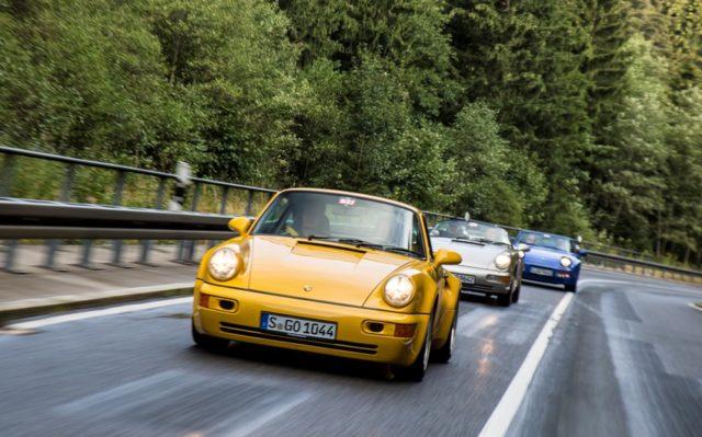 Sachsen Classic 2018 Porsche Klassiker © Porsche