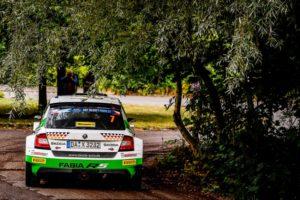 Am Sonntag wird das Heimspiel von SKODA in der FIA Rallye-Europameisterschaft (ERC) mit sechs Prüfungen beendet © Skoda Motorsport