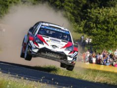 Toyota Gazoo Racing mit Toyota Yaris WRC bei der Rallye Deutschland © Toyota