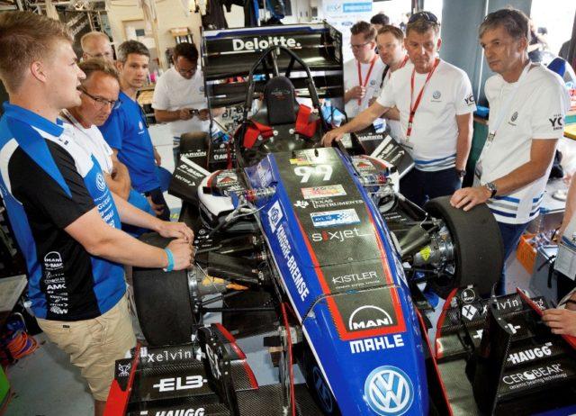 Volkswagen unterstuetzt weiter die Formula Student Germany © Volkswagen