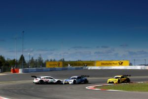 #3 Paul Di Resta, Mercedes-AMG C 63 DTM, #25 Philipp Eng, BMW M4 DTM, #16 Timo Glock, BMW M4 DTM © DTM