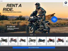 BMW Motorrad Rent A Ride. © BMW AG