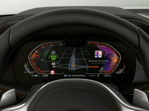 BMW Operating System 7.0 - Info Display Fahrer Assistant Information und Media © BMW AG