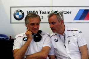 Charly Lamm (GER), Team manager BMW Team Schnitzer und Jens Marquardt (GER), BMW Motorsport Director © BMW Motorsport