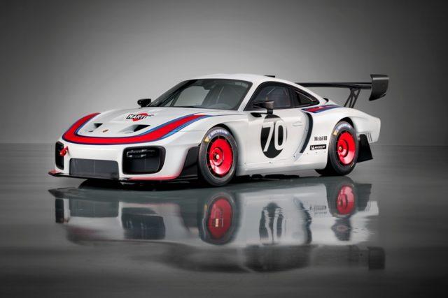 Clubsport-Rennwagen mit 700 PS zum Jubiläum 70 Jahre Porsche Sportwagen Exklusive Neuauflage des Porsche 935 © Porsche