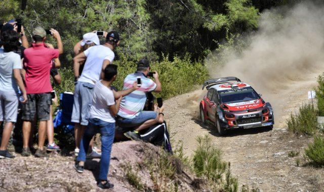 Craig Breen Scott Martin, Citroën C3 WRCRallye Türkei © Citroen Motorsport